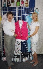 Rosemary Johnson, Publisher of Ladies Golf Journey, with Karen Can'trell, Lady Golf